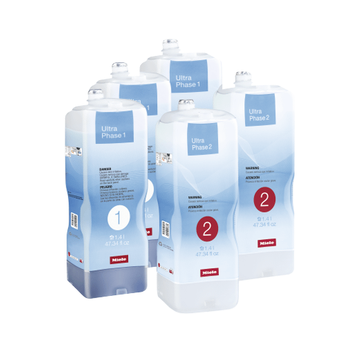 Miele - Set UltraPhase - Miele UltraPhase 1 and 2 Half-year reserve Miele detergents