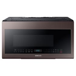 2.1 cu. ft. Smart BESPOKE Over-the-Range Microwave with Sensor Cooking in Fingerprint Resistant Tuscan Stainless Steel