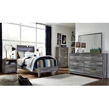 View Product - Twin Panel Bed With Dresser