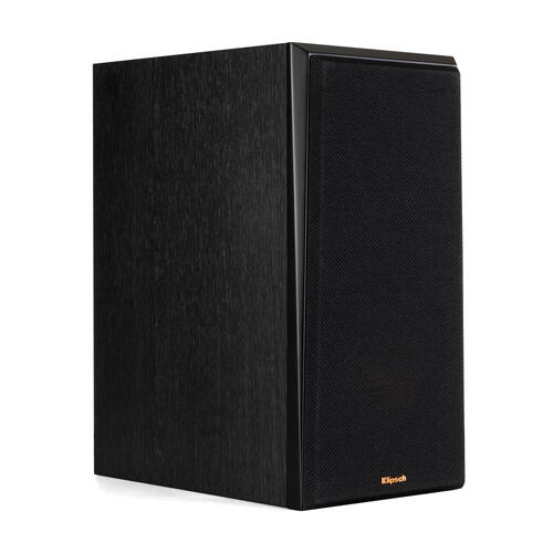 Klipsch - RP-600M Bookshelf Speakers - Piano Black