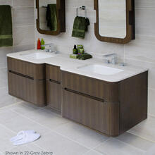 Quartz countertop for vanity H276.