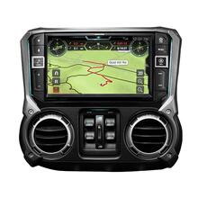 9-Inch Weather-Resistant Navigation System with Off-Road Mode for the 20112018 Jeep Wrangler