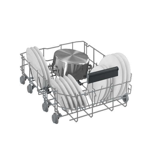 Beko - Slim Size Dishwasher, 8 place settings, 48 dBa, Fully Integrated Panel Ready