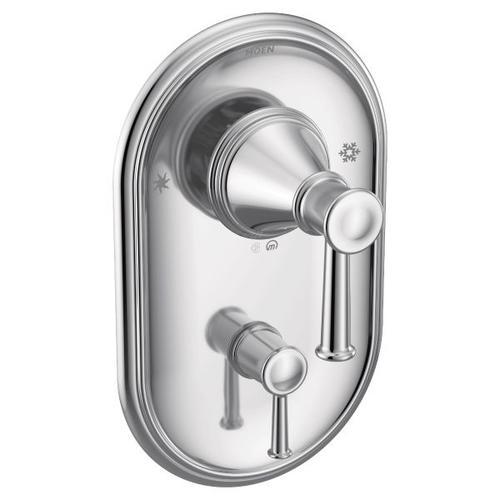 Belfield chrome posi-temp® with diverter valve trim