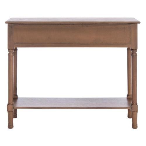 Safavieh - Halton 2 Drawer Console Table - Brown