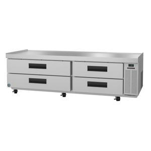 CR85A, Refrigerator, Two Section Chef Base Prep Table, Stainless Drawers