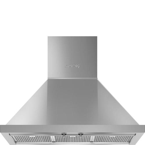 "30"" Portofino Chimney Hood, Stainless steel"