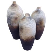 View Product - Bone Finish: Round Bottles (Set of 3)