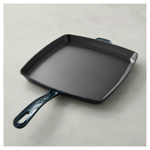 Staub Cast Iron 12-inch, Frying pan, la mer