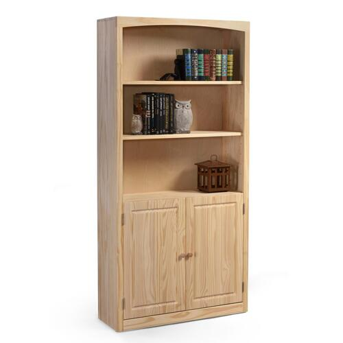 Archbold Furniture - Bookcase 36 X 72 with Doors