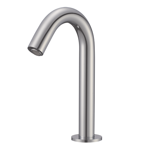 Sensor Lav Faucet with 0.5 Flow Restrictor Brushed Nickel