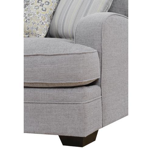 Analiese Lsf Chaise Sectional, Linen Gray U4315-11-12-16-13a-k