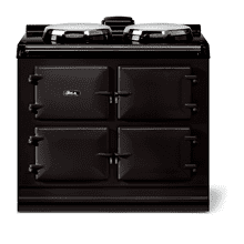 """View Product - AGA classic 39"""" Dual Control Electric-Only Model, Black"""