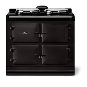"AGAAGA classic 39"" Dual Control Electric/Gas Model, Black"
