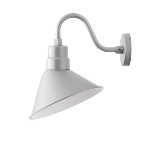 """Capital Lighting - RLM 1 Light 12"""" Angle Shade"""