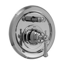 Pressure Balance Tub/Shower Valve Trim - Lever Handle - Polished Chrome