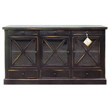Product Image - Stone Brow Buffet W/glass Drs