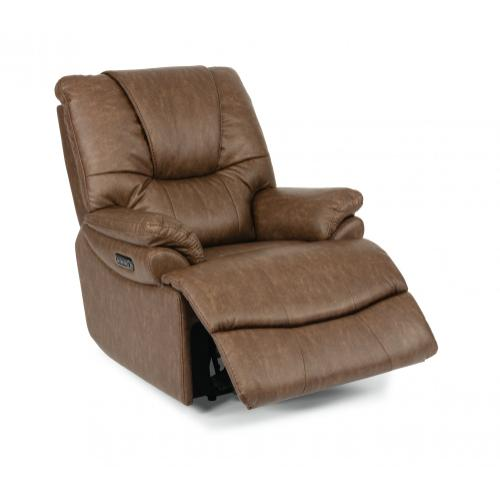 Willis Power Recliner with Power Headrest & Lumbar