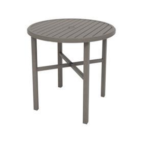 """Amici 42"""" Round KD Bar Umbrella Table"""