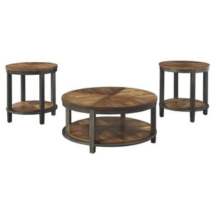 3 Piece Set (Coffee Table and 2 End Tables)