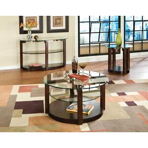 Standard Furniture - Coronado Sofa Table with Casters, Brown
