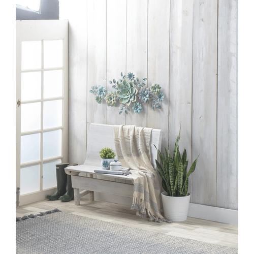 Layered Multi Succulent Wall Decor