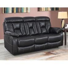 Squire Reclining Sofa w/Dropdown Console