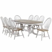 Product Image - Double Pedestal Extendable Dining Table Set - Country Grove (9 Piece)