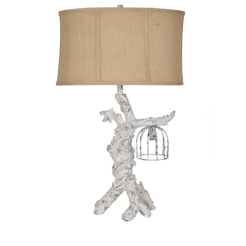 Twisted Branch Table Lamp