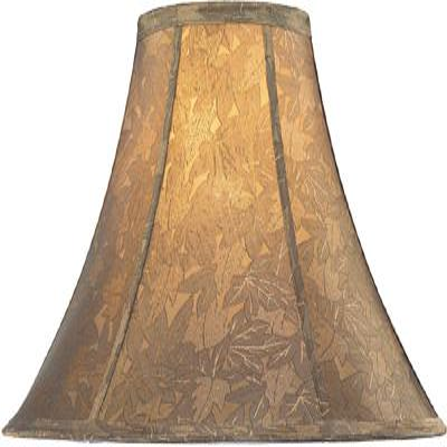 "Jacquard Bell Shade - 7""tx18""bx12""sl"