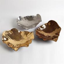 Wave Platter-Bronze Crackle