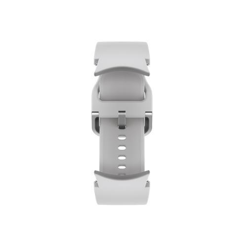 Samsung - Galaxy Watch4, Galaxy Watch4 Classic Sport Band, M/L, Silver