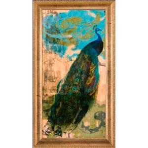 Embellished Peacock I