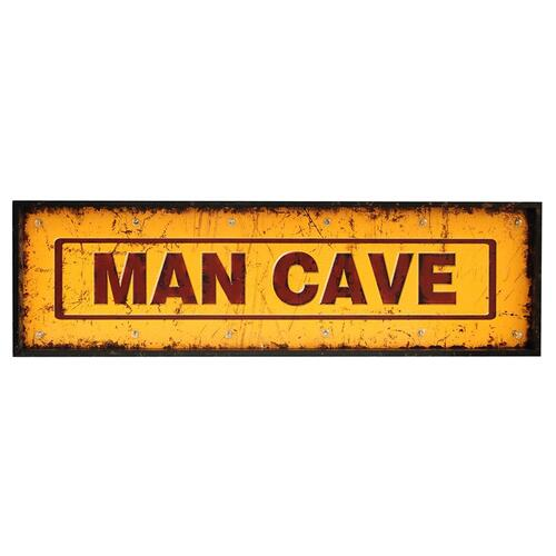 """MAN CAVE"""