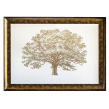 """GOLD FOIL ELEPHANT TREE"""