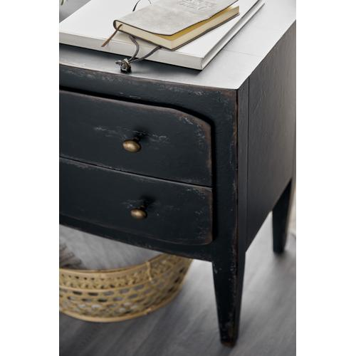 Ciao Bella Two-Drawer Nightstand- Black