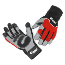 PPE Mechanic Style Work Glove ( M )
