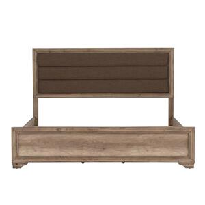 King Uph Panel Headboard & Footboard