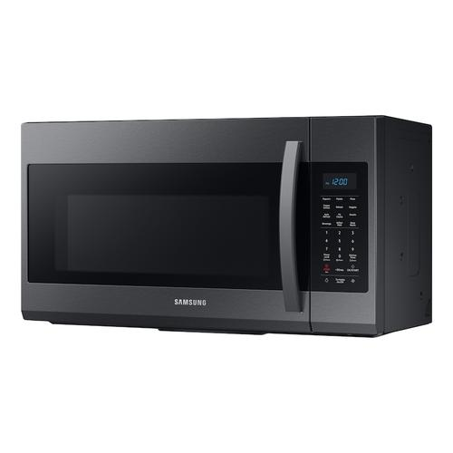 1.9 cu ft Over The Range Microwave with Sensor Cooking in Black Stainless Steel
