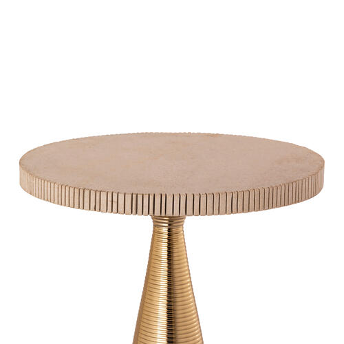 Tov Furniture - Celeste Ribbed Side Table