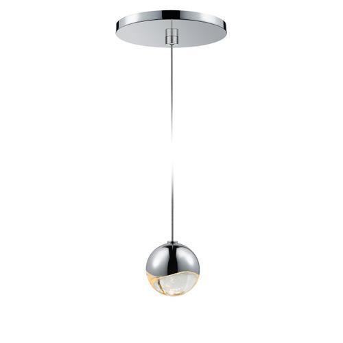 Sonneman - A Way of Light - Grapes® LED Pendant [Size=Single Small, Color/Finish=Polished Chrome, Shape=Round Canopy]