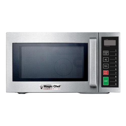 Magic Chef - 0.9 cu ft 1000W Commercial Microwave Oven