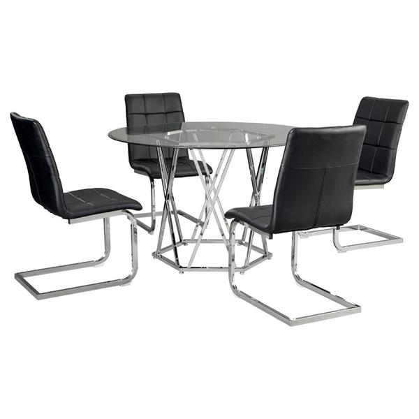 See Details - Dining Table and 4 Chairs