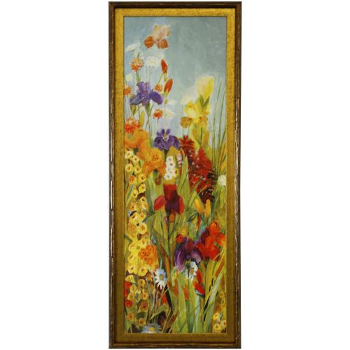 Style Craft - MERRIMENT I  39in X 15in  Made in the USA  Textured Framed Print