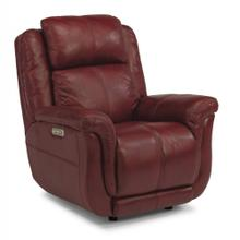 Product Image - Brookings Leather Power Gliding Recliner with Power Headrest