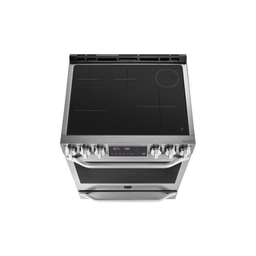 LG STUDIO 6.3 cu. ft. Induction Slide-in Range with ProBake Convection® and EasyClean®