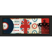 """British Invasion I"" By Mo Mullan Framed Print Wall Art"