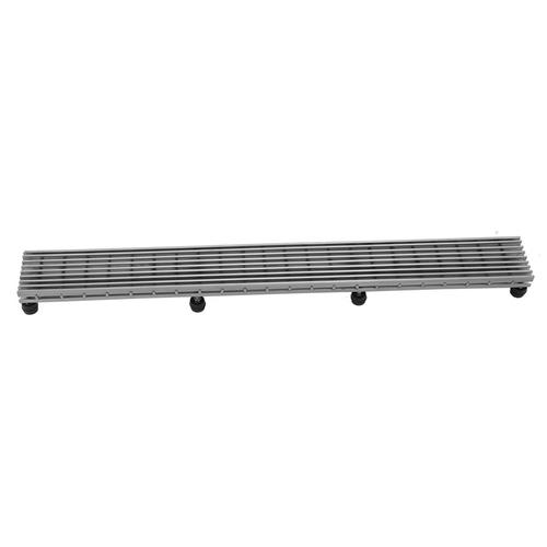 """Brushed Stainless - 42"""" Channel Drain Bar Grate"""