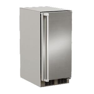 Marvel15-In Outdoor Built-In Refrigerator with Door Style - Stainless Steel