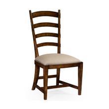 Oak Ladderback Style Side Chair